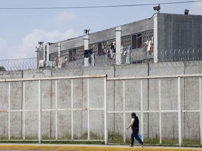 Edificio de la cárcel de Santa Martha, en la Ciudad de México, en una imagen de archivo.