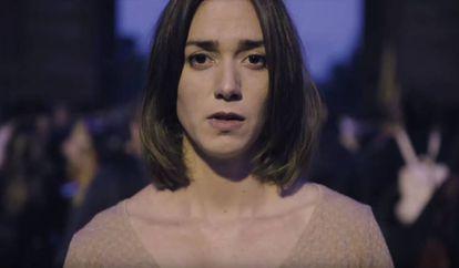 La actriz Anna Maruny protagonizó el vídeo 'Help Catalonia'.