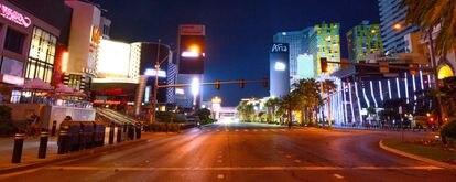 El Strip de Las Vegas, vacío el pasado 5 de mayo.