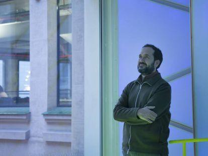 Marcos García, director artístico del centro Medialab Prado, centro artístico y de investigación de Madrid