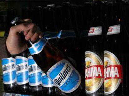 El fabricante de bebidas Ambev, que posee la marca Brahma y es dueño también de la cervecería argentina Quilmes, lideró la lista por valor de mercado de las empresas latinoamericanas en 2012. EFE/Archivo