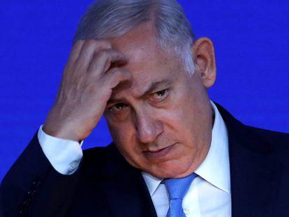 El primer ministro israelí, Benjamín Netanyahu, el pasado día 3 en Londres.