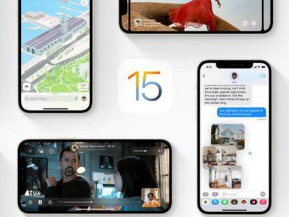 iOS 15 trae nuevas características a los iPhone.