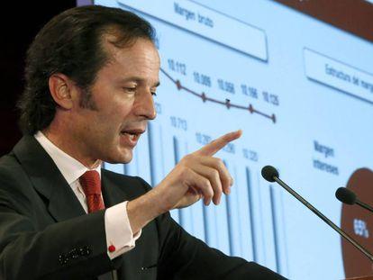 El ex consejero delegado del Banco Santander, Javier Marín.