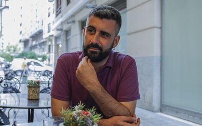 El concejal de Fiestas del Ayuntamiento de Valencia, Pere Fuset, durante la entrevista.