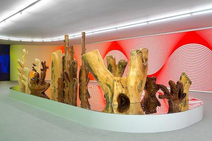 'After Nature', de Claudia Comte en el Museo Thyssen de Madrid.
