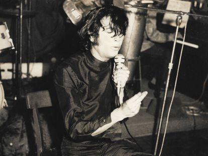 Bambino, durante un concierto en una imagen sin datar.