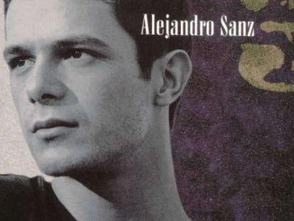 Portada de '3', el cuarto álbum de estudio de Alejandro Sanz.