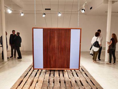 La galeria Joan Prats, durante la Barcelona Gallery Weekend en 2017.