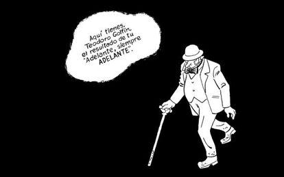 Una de las ilustraciones del cómic 'Marianela'.