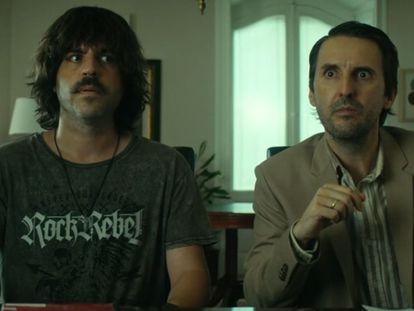 Ernesto Sevilla y Julián López, en 'Descarrilados'.