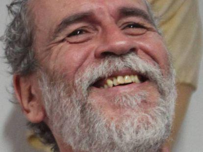 Willy Toledo, en una imagen tomada en mayo en la parroquia San Carlos Borromeo de Madrid. En vídeo, las declaraciones más polémicas del actor.