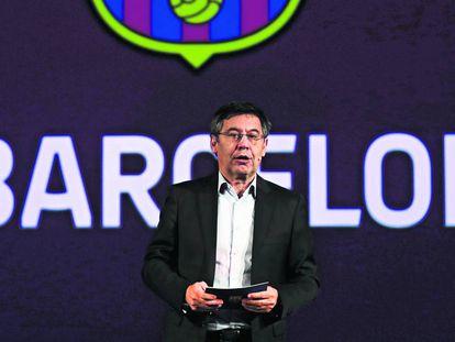 El pressidente del Barcelona, Josep Maria Bartomeu.