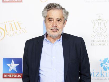 El actor, guionista y director Carlos Iglesias, en Madrid el pasado enero.