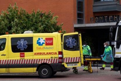 Residencia de Mayores Monte Hermoso en el Alto de Extremadura donde hay al menos 16 muertos y muchas personas críticas.