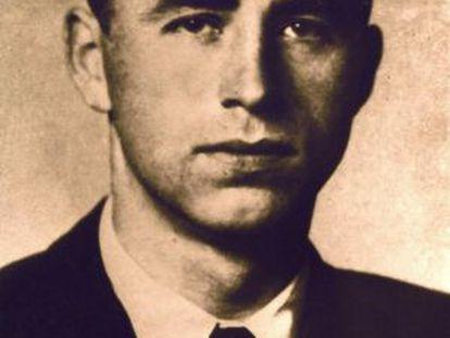 Retrato del nazi Alois Brunner.