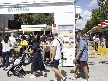 La 80ª edición de la Feria del Libro de Madrid celebrada del 10 al 16 de septiembre de 2021.