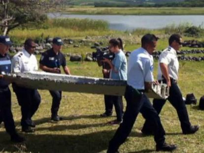 EE UU cree que los restos hallados son de un avión como el MH370