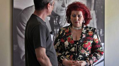 Consuelo Ciscar, en una imagen de archivo, cuando dirigía el IVAM, entre 2004 y 2014.