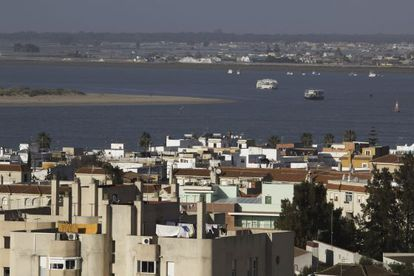Vista de Sanlúcar de Barrameda.