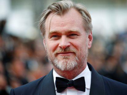 Christopher Nolan, en el festival de Cannes de 2018, antes de la proyección de la restauración de '2001, una odisea del espacio'.