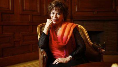 La escritora Isabel Allende, en Madrid.