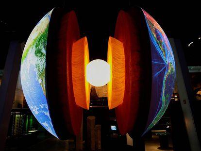 Imagen de la nueva exposición permanente Universo en CosmoCaixa.