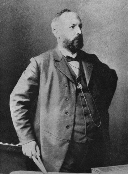 El matemático alemán Georg Cantor.