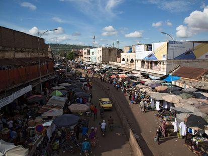Vista general del mercado de Bamako, Malí, el pasado 26 de agosto.
