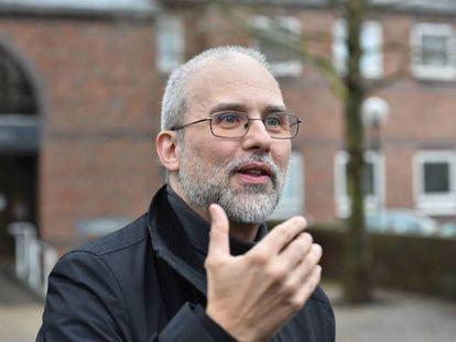 Jordi Casamitjana, ciudadano vegano que acaba de ganar una sentencia en Reino Unido.