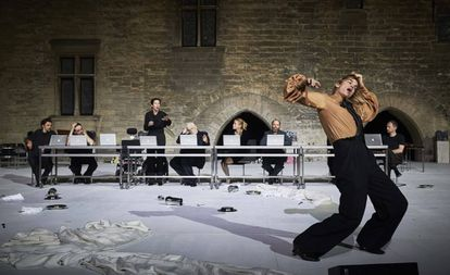 La obra de Pascal Rambert en el festival de Aviñón.