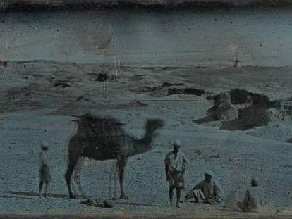 Desierto cerca de Alejandría, 1842