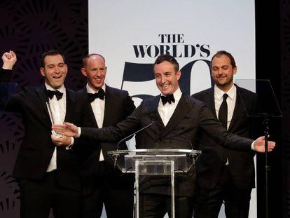 La ceremonia, en abril, de los premios The World's 50 Best.