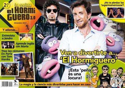 Portada de la revista 'El Hormiguero 3.0'