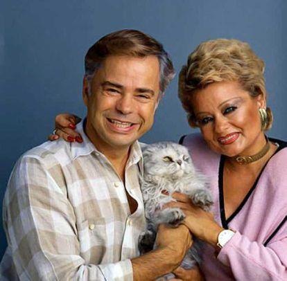 Los auténticos Jim y Tammy Faye Bakker.