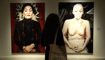 'Disturbance14' y 'Disturbance 13', de Lita Cabellut, dos de las obras de Lita Cabellut que pueden verse en Barcelona