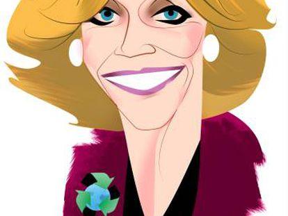Jane Fonda, actriz de puño en alto