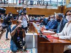 DVD 1058 (17-06-21) Sesión de investidura de la XII Legislatura en la Asamblea de Madrid. Discurso de Isabel Díaz Ayuso. Foto Samuel Sánchez