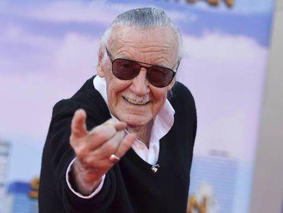 Stan Lee en el estreno de 'Spider-man:Homecoming' en junio de 2017 en Los Ángeles.