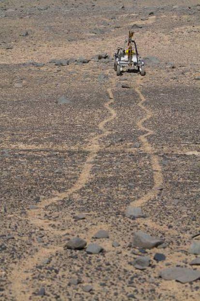 ¿Marte? No, un rover de la Nasa en el desierto de Atacama.