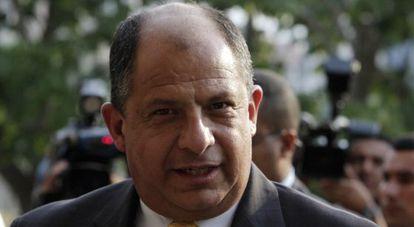 El presidente electo de Costa Rica, Luis Guillermo Solís