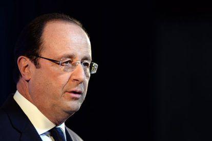 El presidente Hollande este viernes en Roma.