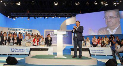 El presidente del PP andaluz, Juan Ignacio Zoido.