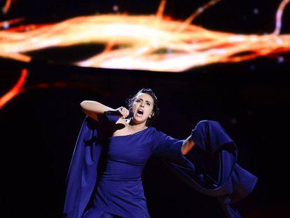 Jamala, representante de Ucrania en Eurovisión.