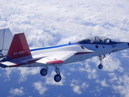 Prototipo del X2, un avión furtivo de combate.