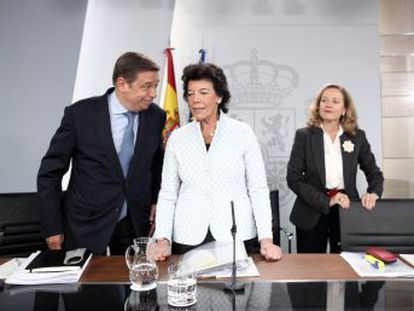España no puede estar aislada de los riesgos globales , sostiene la ministra de Economía en funciones