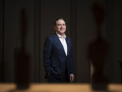 Antonio Huertas, presidente de Mapfre, en la sede de la compañía en Madrid.