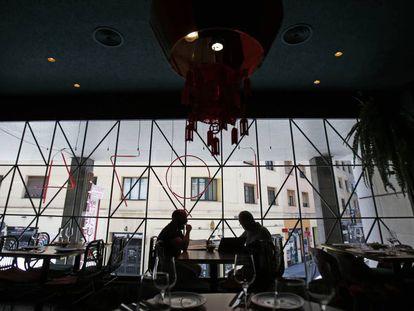 El Buda Feliz, junto a la plaza de la Luna y muy cerca de la del Callao, fue uno de los primeros restaurantes chinos de Madrid.