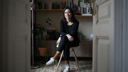 La directora Cordelia Alegre, en su casa de Barcelona el pasado jueves.