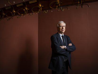 José Manuel Sánchez Ron, el martes pasado en la sede de la Real Academia Española.